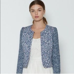 Joie Foire Floral Quilted Jacket
